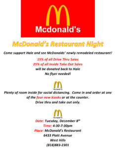McDonald's Restaurant Night