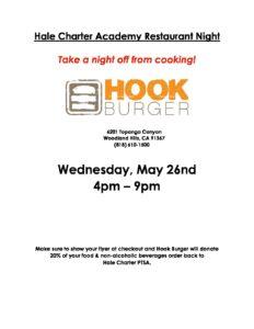 Hook Burger Restaurant Night